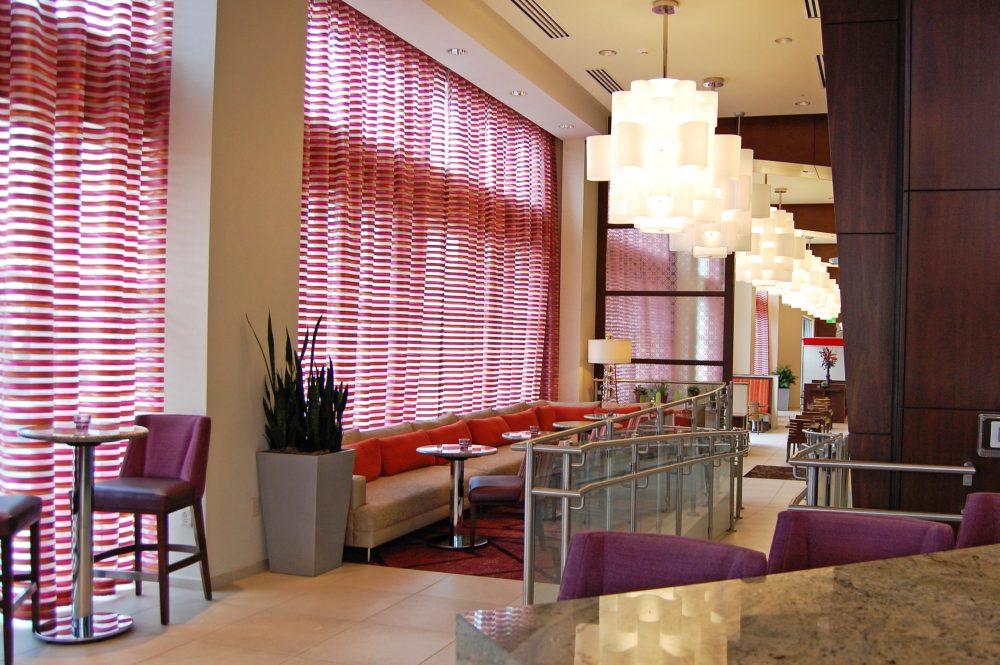 Hilton Homewood Suites - Marietta Drapery