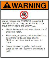 ANSI Shade Warning